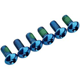Red Cycling Products Rotor Bolts blau